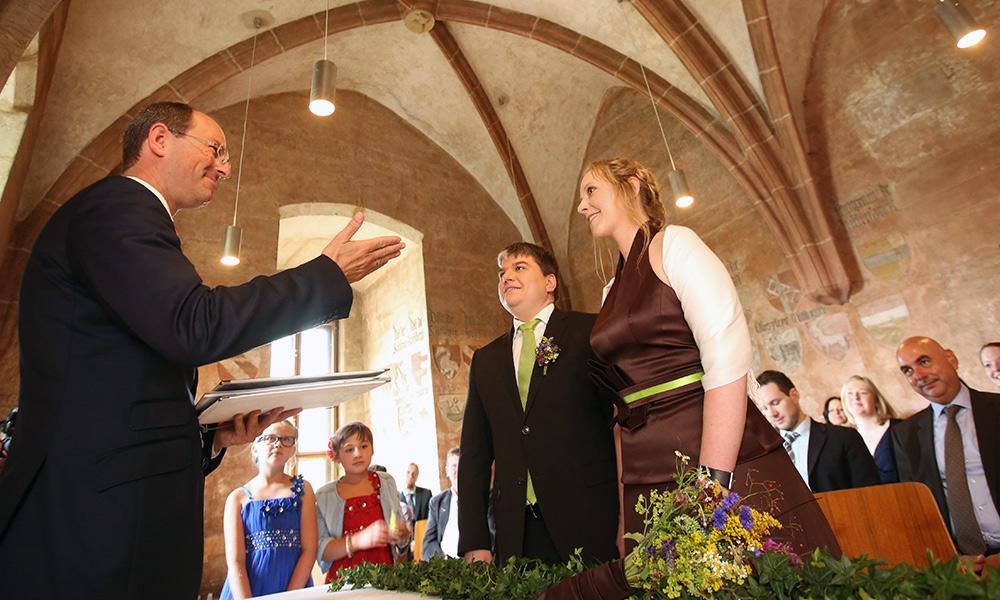 Benedigt Bisping Trauung Im Schloss
