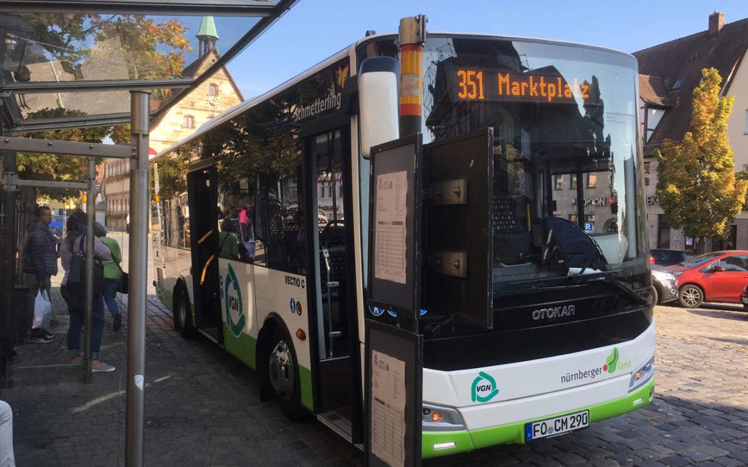 NEU: Mehr Stadtbus-Fahrten in Lauf!