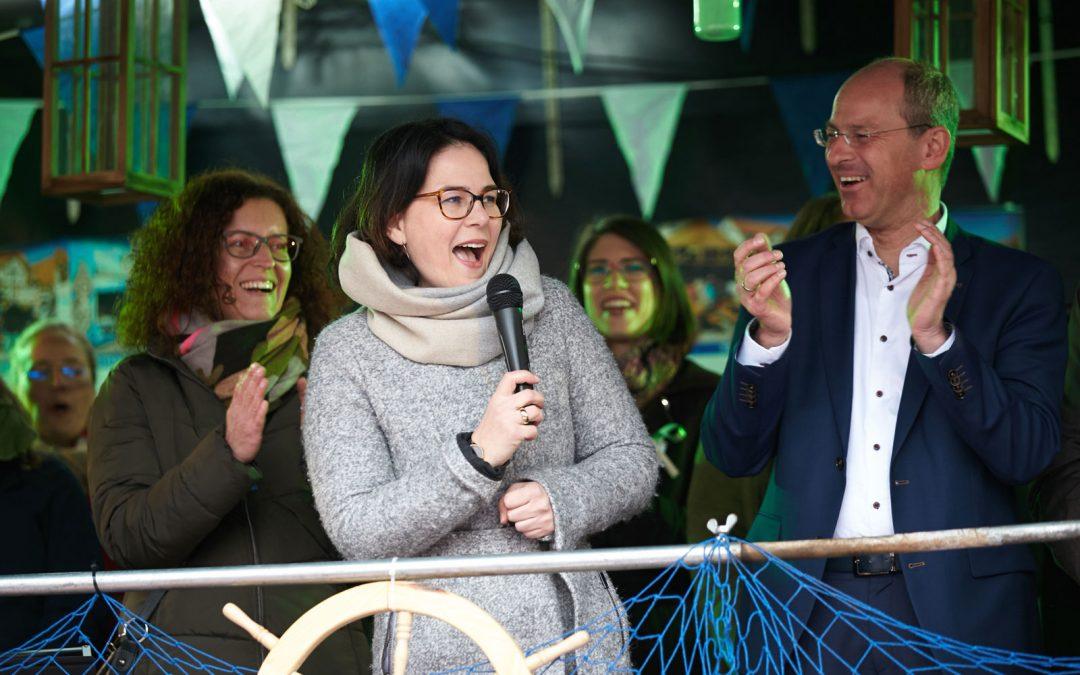 """Annalena Baerbock war begeistert von Lauf: """"Zur Einweihung komme ich wieder"""""""